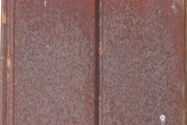 Antique Rusted Corduroy Tin