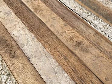 Antique Thresher Plank Blocks