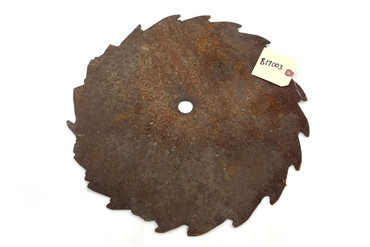 Antique Circular Saw Blade