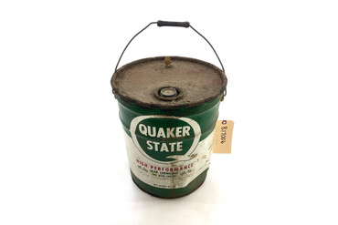 Antique Quaker State 5 Gallon Oil Can