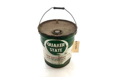 Antique Quaker State 5 Gallon Oil Can