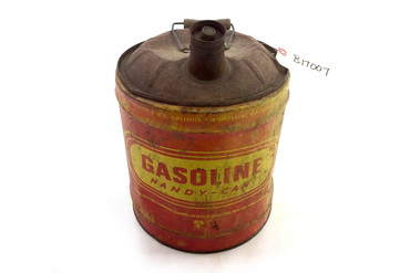 Antique Metal Handy-Can 5 Gallon Gas Can