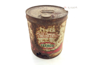 Antique Texaco 5 Gallon Oil Can
