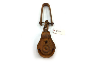 Antique Cast-Iron Pulley