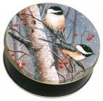 Chickadee Tin