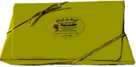 Lime Green Gift Box with Gold Cord & Bow
