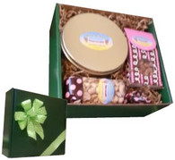 Gold Tin Gift Box Plus