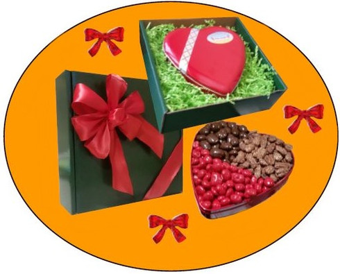 Valentine Heart Tin Box