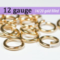12g 14K Gold Fill Jump Rings