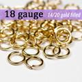 18g 14K Gold Fill Jump Rings