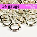 14g Silver Fill Jump Rings