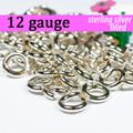 12g Silver Fill Jump Rings