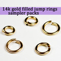 14K Gold Fill Jump Ring Sampler Packs