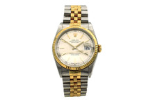 Rolex 1989 18 Karat Yellow Gold and Stainless Steel Datejust