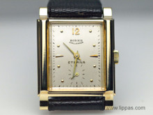 Birk's Eterna 14 Karat Yellow Gold Mens Watch