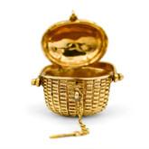 14 Karat Yellow Gold Nantucket Basket