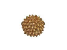22 Karat Yellow Gold Domed Estate Ring
