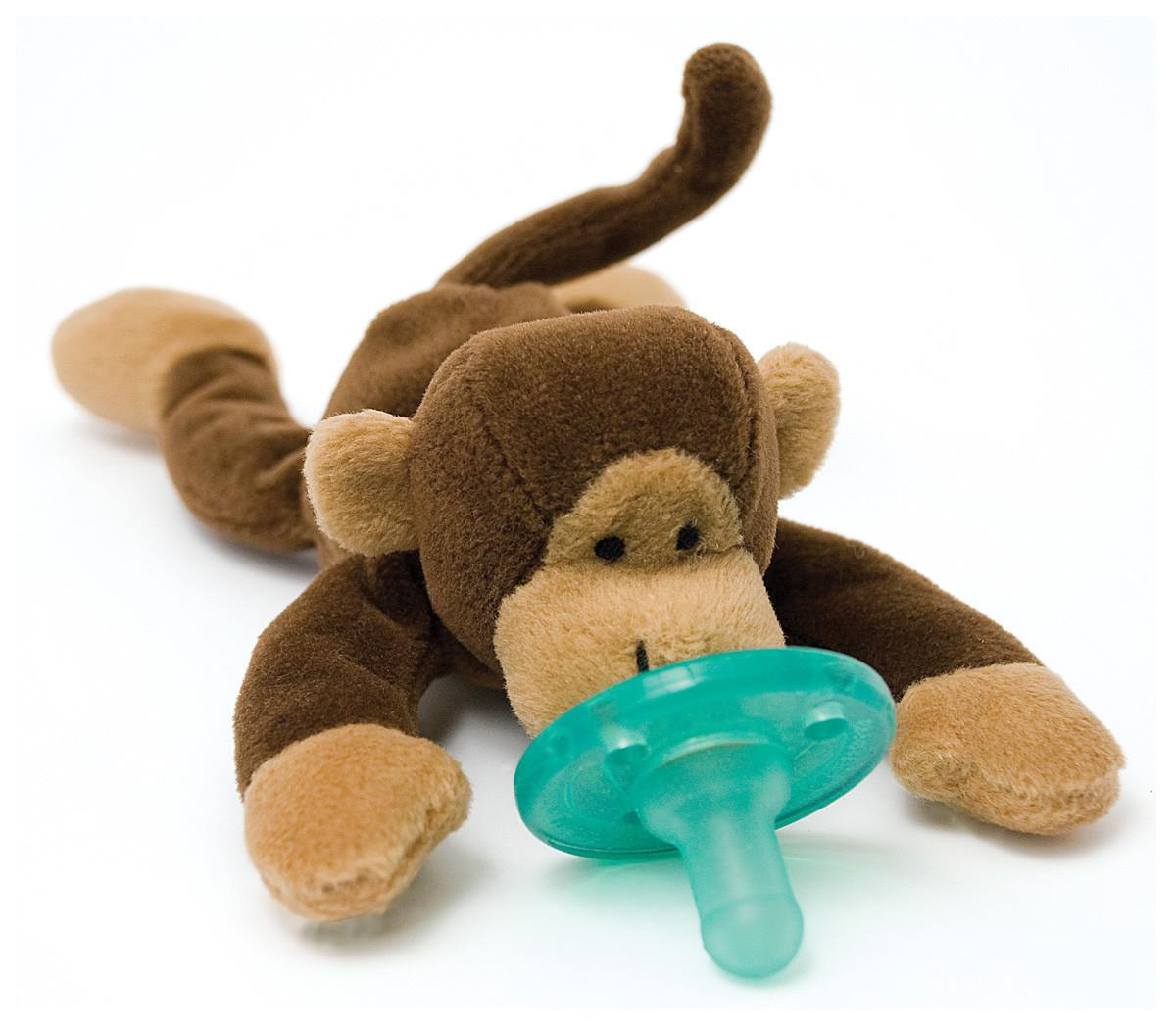 Wubbanub Monkey Baby Stitches