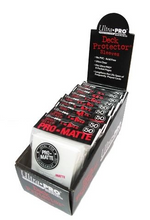White Ultra Pro Pro-Matte Sleeves