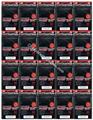 Bulk KMC Deck Protectors 1600 Hyper MAT Black