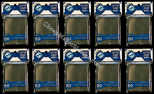 500 Pack of Black Fantasy Flight Supply MTG Card Sleeves