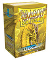 Yellow Dragon Shield Sleeves for Magic: The Gathering Cards 100ct