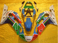 Yamaha YZF-R6 1998 to 2002 Marlboro fairing kits, this Yamaha YZF-R6 1998 to 2002 plastics was applied in Marlborographics, this 1998 to 2002 YZF-R6 fairing set comes with the both color and decals shown as the photo.If you want to do custom fairings for YZF-R6 1998 to 2002,our talented airbrusher will custom it for you.