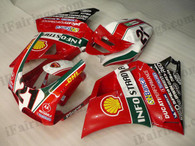 Ducati 748/916/996/998 INFOSTRADA fairing kits, this Ducati 748/916/996/998 replacement fairing was applied in INFOSTRADA graphics, this Ducati 748/916/996/998 fairing set comes with the both color and decals shown as the photo. If you want to do custom fairings for Ducati 748/916/996/998,our talented airbrusher will custom it for you.