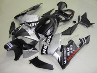 Honda CBR600RR 2005 2006 repsol black/silverfairing kits, this Honda CBR600RR 2005 2006 plastics was applied in repsol black/silvergraphics, this 2005 2006 CBR600RR fairing set comes with the both color and decals shown as the photo.If you want to do custom fairings for CBR600RR 2005 2006,our talented airbrusher will custom it for you