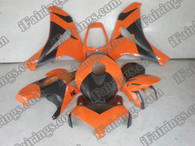 Honda CBR1000RR 2008 2009 2010 2011 burnt orange and black fairing kits, this Honda CBR1000RR 2008 2009 2010 2011 plastics was applied in burnt orange and blackgraphics, this 2008 2009 2010 2011 CBR1000RR fairing set comes with the both color and decals shown as the photo.If you want to do custom fairings for CBR1000RR 2008 2009 2010 2011,our talented airbrusher will custom it for you.