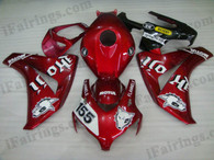 Honda CBR1000RR 2008 2009 2010 2011 black and silver fairing kits, this Honda CBR1000RR 2008 2009 2010 2011 plastics was applied in black and silvergraphics, this 2008 2009 2010 2011 CBR1000RR fairing set comes with the both color and decals shown as the photo.If you want to do custom fairings for CBR1000RR 2008 2009 2010 2011,our talented airbrusher will custom it for you.
