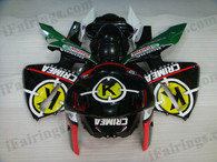 Honda CBR600RR 2005 2006 CRIMEAfairing kits, this Honda CBR600RR 2005 2006 plastics was applied in CRIMEAgraphics, this 2005 2006 CBR600RR fairing set comes with the both color and decals shown as the photo.If you want to do custom fairings for CBR600RR 2005 2006,our talented airbrusher will custom it for you