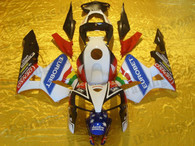 Honda CBR600RR 2005 2006 eurobetfairing kits, this Honda CBR600RR 2005 2006 plastics was applied in eurobetgraphics, this 2005 2006 CBR600RR fairing set comes with the both color and decals shown as the photo.If you want to do custom fairings for CBR600RR 2005 2006,our talented airbrusher will custom it for you.