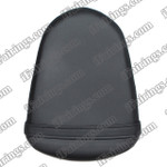Black rear pillion passenger seat for 2005 2006 Suzuki GSXR 1000. it is made of synthetic Leather, high-density foam, high quality ABS plastic and comes with all the mounting brackets.