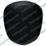 Black rear pillion passenger seat for 2008 2009 Suzuki Hayabusa GSXR 1300. it is made of synthetic Leather, high-density foam, high quality ABS plastic and comes with all the mounting brackets.