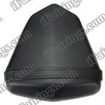 Black rear pillion passenger seat for 2008 2009 2010 2011 2012 Yamaha YZF R6. it is made of synthetic Leather, high-density foam, high quality ABS plastic and comes with all the mounting brackets.