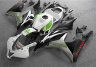 Honda CBR600RR 2007 2008 HANNspree fairing kits, this Honda CBR600RR 2007 2008 plastics was applied in HANNspreegraphics, this 2007 2008 CBR600RR fairing set comes with the both color and decals shown as the photo.If you want to do custom fairings for CBR600RR 2007 2008,our talented airbrusher will custom it for you