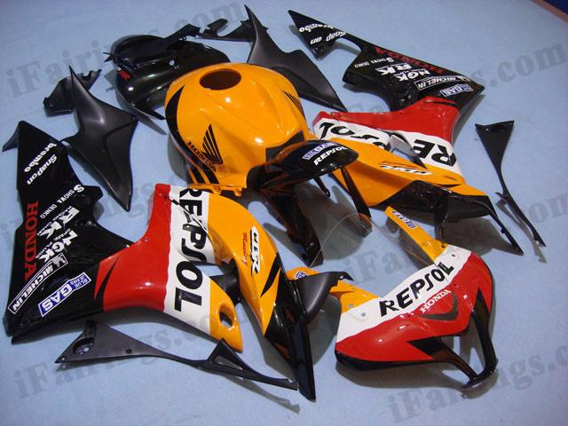 Replica Fairings And Body Kits For Honda 2007 2008 Cbr600rr Repsol
