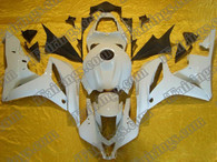 Honda CBR600RR 2007 2008 pearl white fairing kits, this Honda CBR600RR 2007 2008 plastics was applied in pearl whitegraphics, this 2007 2008 CBR600RR fairing set comes with the both color and decals shown as the photo.If you want to do custom fairings for CBR600RR 2007 2008,our talented airbrusher will custom it for you