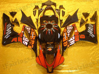 Honda CBR600RR 2007 2008 Valentino Rossi fairing kits, this Honda CBR600RR 2007 2008 plastics was applied in Valentino Rossigraphics, this 2007 2008 CBR600RR fairing set comes with the both color and decals shown as the photo.If you want to do custom fairings for CBR600RR 2007 2008,our talented airbrusher will custom it for you