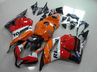 Honda repsol graphic fairing for 2009 to 2012 Honda CBR600RR, Honda CBR600RR repsol fairing kits.