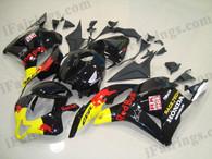2009 to 2012 Honda CBR600RR RedBull Fairings, Honda RedBull Fairing Kit for Honda CBR600RR 2009 to 2012.