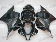 OEM quality fairings and body kits for 2009 2010 2011 2012 Honda CBR600RR with black and grey scheme/graphcis, this aftermarket fairing kit is oem quality, fast shipping and easy installation. This model fairing 2009 2010 2011 2012 CBR600RR can be customized.