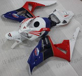 OEM quality fairings and body kits for 2006 2007 Honda CBR1000RR with factory scheme color scheme/graphics, these fairing kits are oem quality, fast shipping and easy installtion. More factory color-matched fairings for CBR1000RR 2006 2007, team race replica fairings and custom fairing sets for Honda CBR1000RR 2006 2007, please browse iFairings.com.