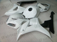 OEM quality fairings and body kits for 2006 2007 Honda CBR1000RR with white and black color scheme/graphics, these fairing kits are oem quality, fast shipping and easy installtion. More factory color-matched fairings for CBR1000RR 2006 2007, team race replica fairings and custom fairing sets for Honda CBR1000RR 2006 2007, please browse iFairings.com.