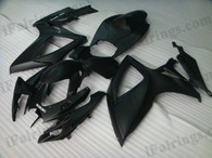 OEM quality fairings and body kits for 2006 2007 Suzuki GSXR600/750 with matt black color scheme/graphics, these fairing kits are oem quality, fast shipping and easy installtion. More factory color-matched fairings for GSXR600/750 2006 2007, team race replica fairings and custom fairing sets for Suzuki GSXR600/750 2006 2007, please browse iFairings.com.