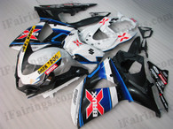 OEM quality fairings and body kits for 2009 2010 2011 2012 Suzuki GSXR1000 with Alstare Brux color scheme/graphics, these fairing kits are oem quality, fast shipping and easy installtion. More factory color-matched fairings for GSXR1000 2009 2010 2011 2012, team race replica fairings and custom fairing sets for Suzuki GSXR1000 2009 2010 2011 2012, please browse iFairings.com.