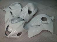 OEM quality fairings and body kits for 1996 to 2007 Suzuki GSXR1300 Hayabusa with pearl white color scheme/graphics, these fairing kits are oem quality, fast shipping and easy installtion. More factory color-matched fairings for GSXR1300 Hayabusa 1996 to 2007, team race replica fairings and custom fairing sets for Suzuki GSXR1300 Hayabusa 1996 to 2007, please browse iFairings.com.