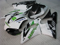 OEM quality fairings and body kits for 1998 1999 Yamaha YZF-R1 with HANNspree replica color scheme/graphics, these fairing kits are oem quality, fast shipping and easy installtion. More factory color-matched fairings for YZF-R1 1998 1999, team race replica fairings and custom fairing sets for Yamaha YZF-R1 1998 1999, please browse iFairings.com.