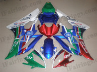 OEM quality fairings and body kits for 2006 2007 Yamaha YZF-R6 with Fiat 500 color scheme/graphics, these fairing kits are oem quality, fast shipping and easy installtion. More factory color-matched fairings for YZF-R6 2006 2007, team race replica fairings and custom fairing sets for Yamaha YZF-R6 2006 2007, please browse iFairings.com.
